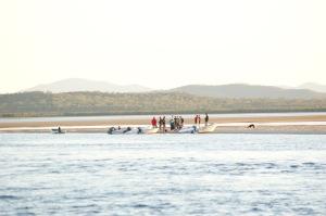 Sundowners Before the tide